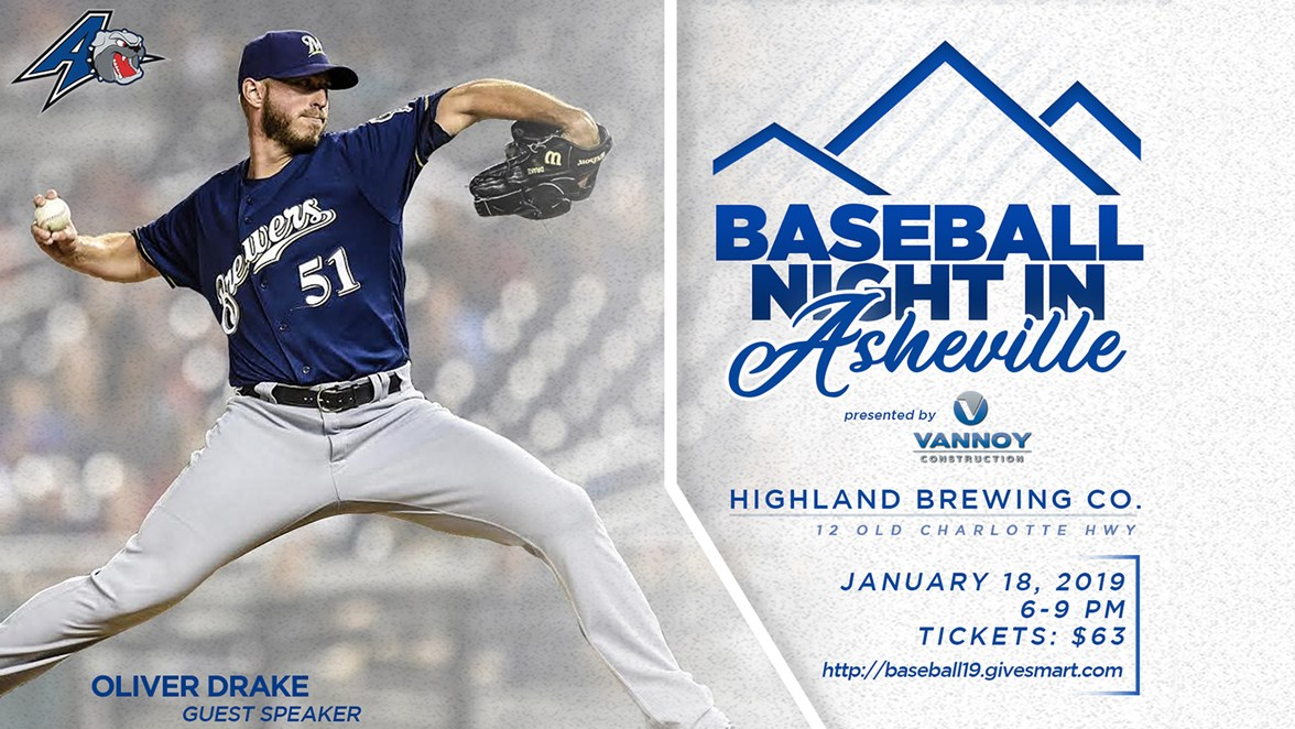 03dcc8dde Annual  Baseball Night in Asheville  Tickets Officially on Sale ...